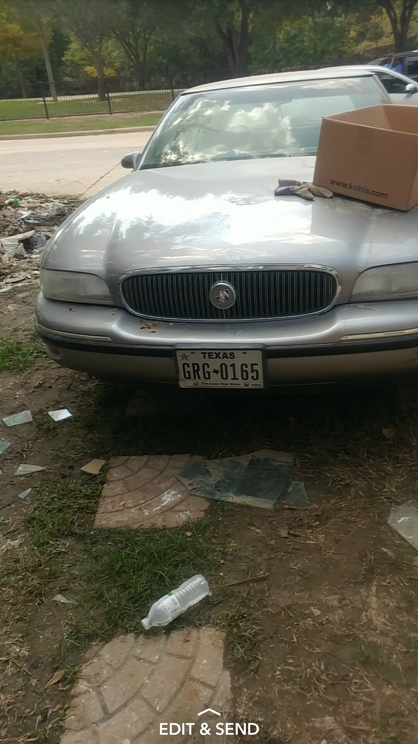 Junk 1997 Buick LeSabre in Houston