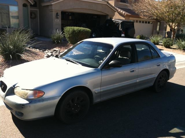 Junk 1997 Hyundai Sonata in San Tan Valley