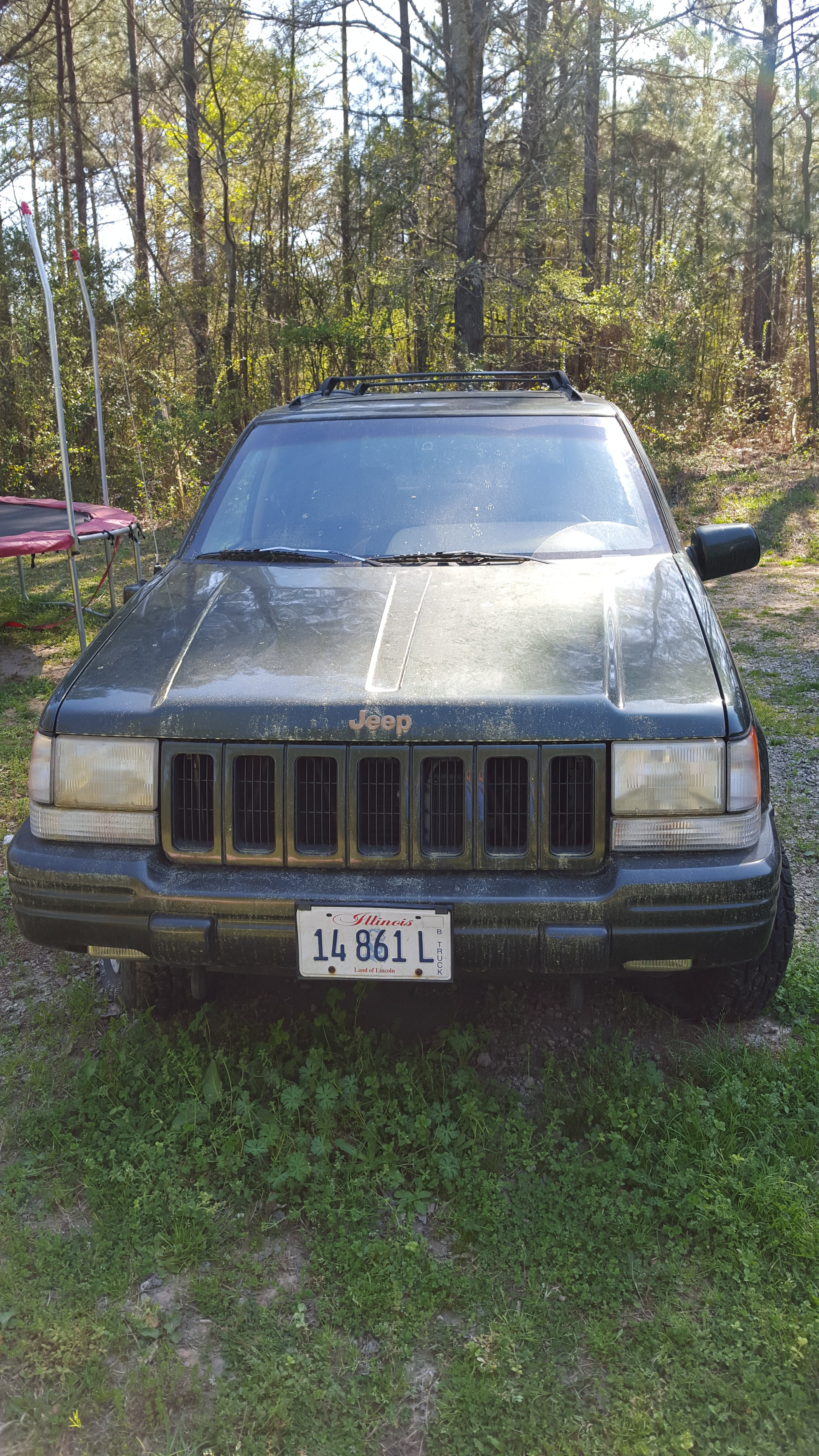 Junk 1997 Jeep Grand Cherokee in Greenville