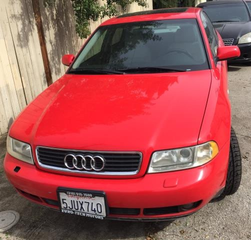 Junk 2001 Audi A4 in North Hollywood