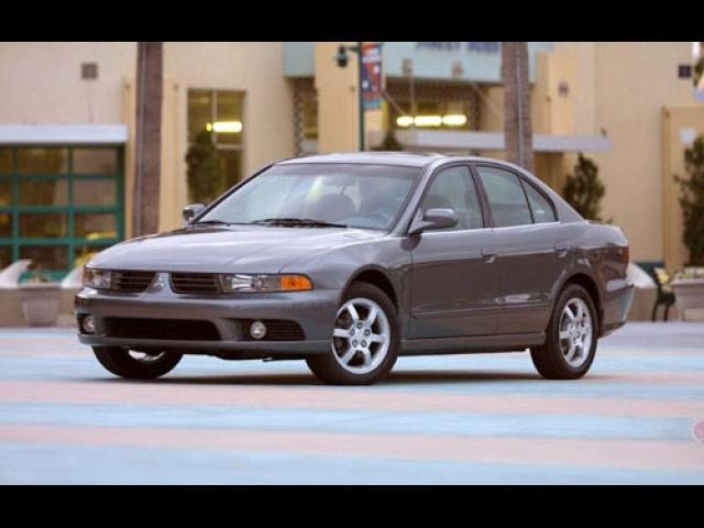 Junk 2002 Mitsubishi Galant in Houston