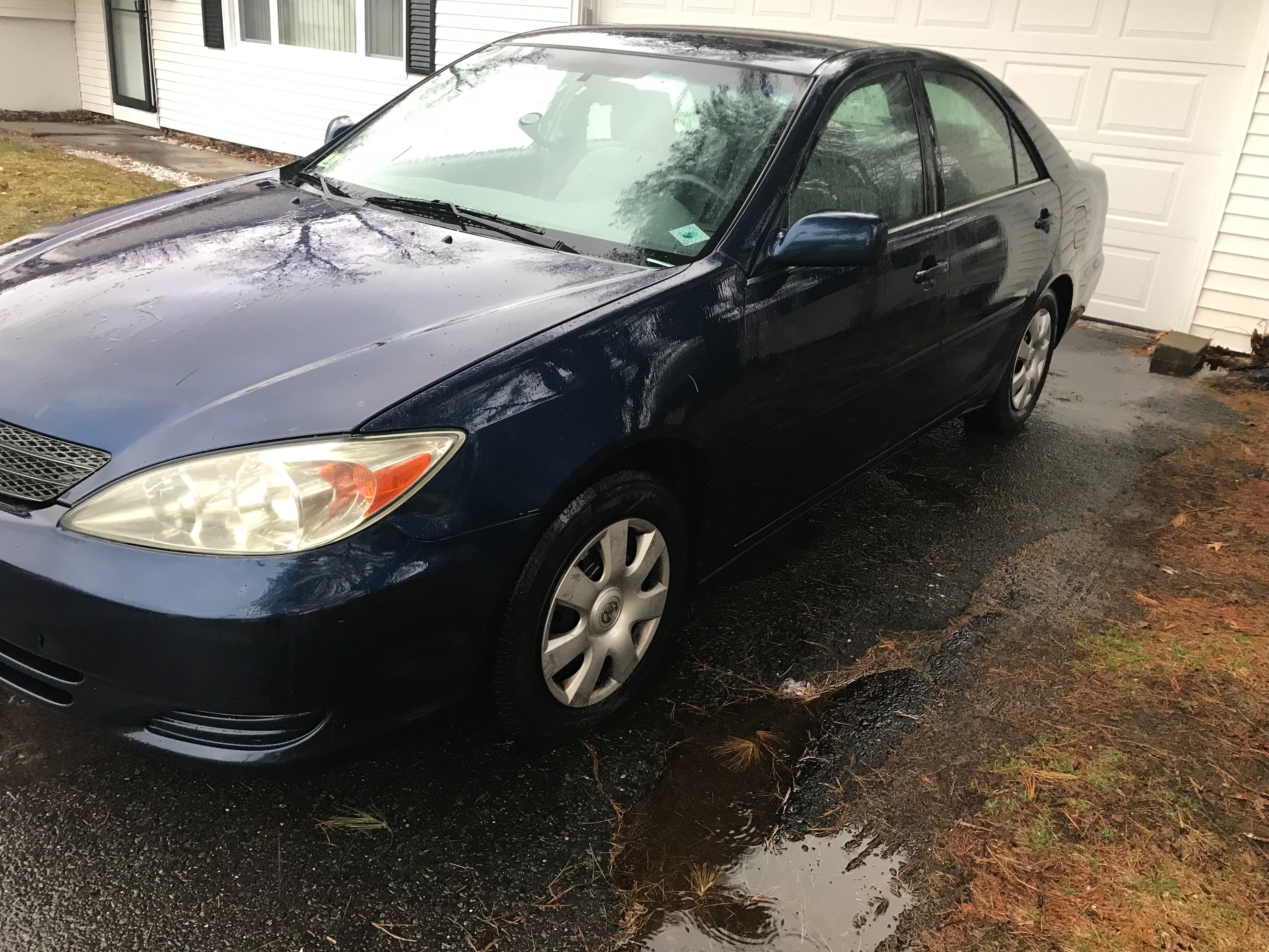 Junk 2002 Toyota Camry in Bloomfield