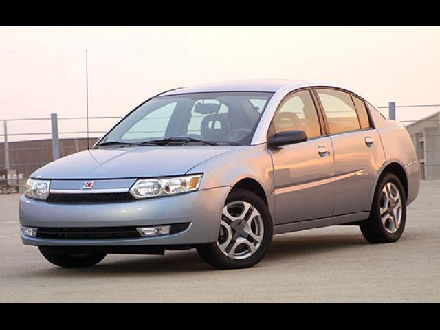 Junk 2003 Saturn Ion in Spring