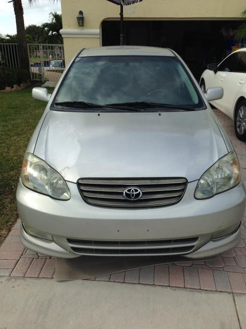 Junk 2003 Toyota Corolla in Lake Worth