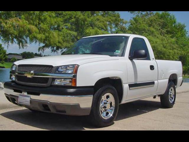 Junk 2004 Chevrolet Silverado in Houston