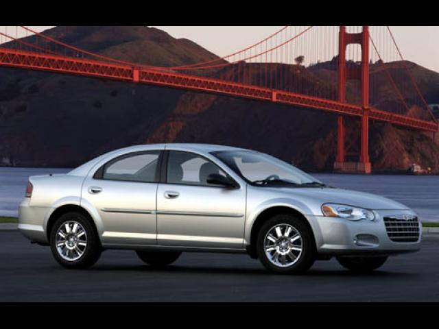 Junk 2004 Chrysler Sebring in Van Nuys