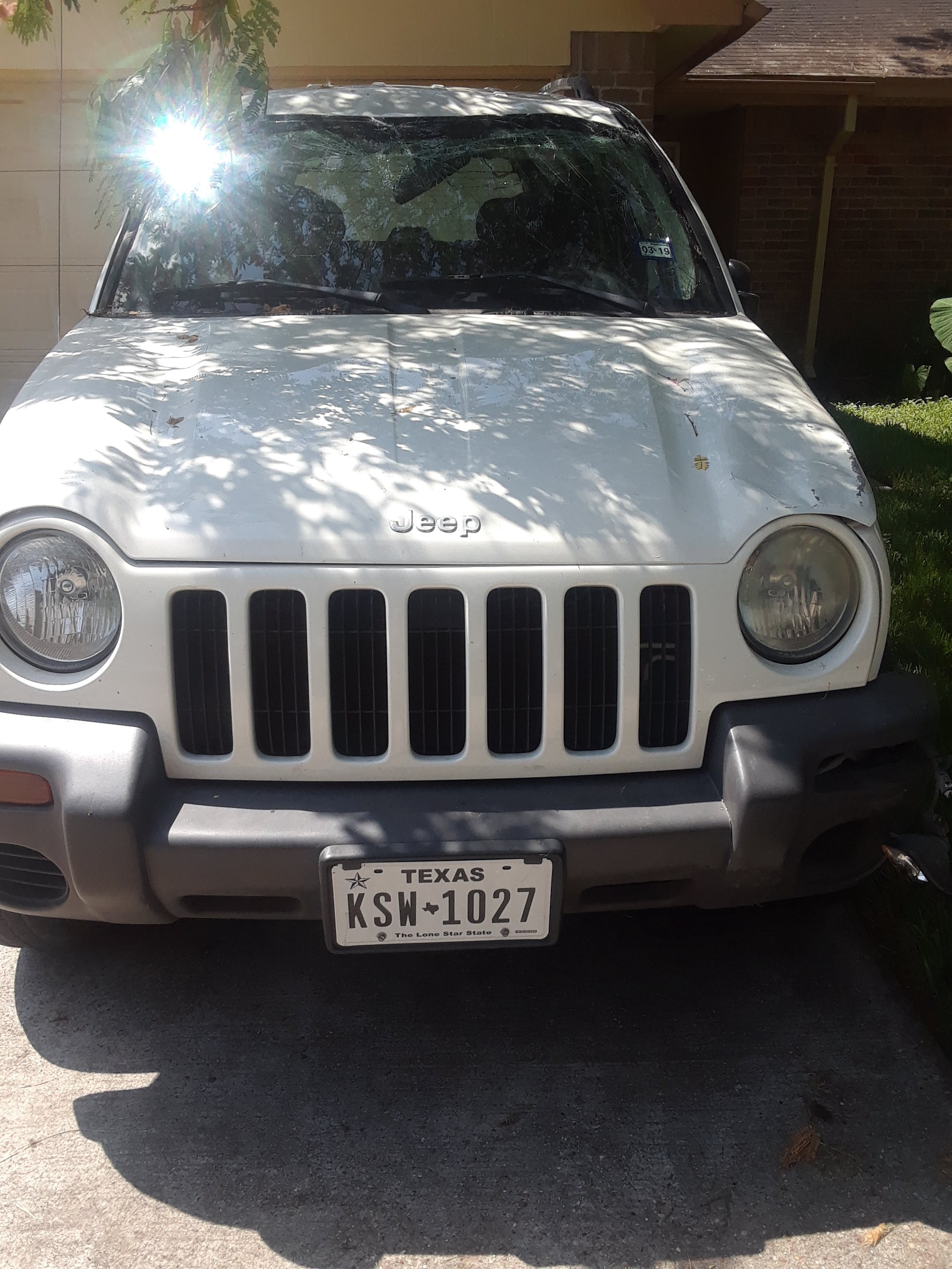 Junk 2004 Jeep Liberty in Houston