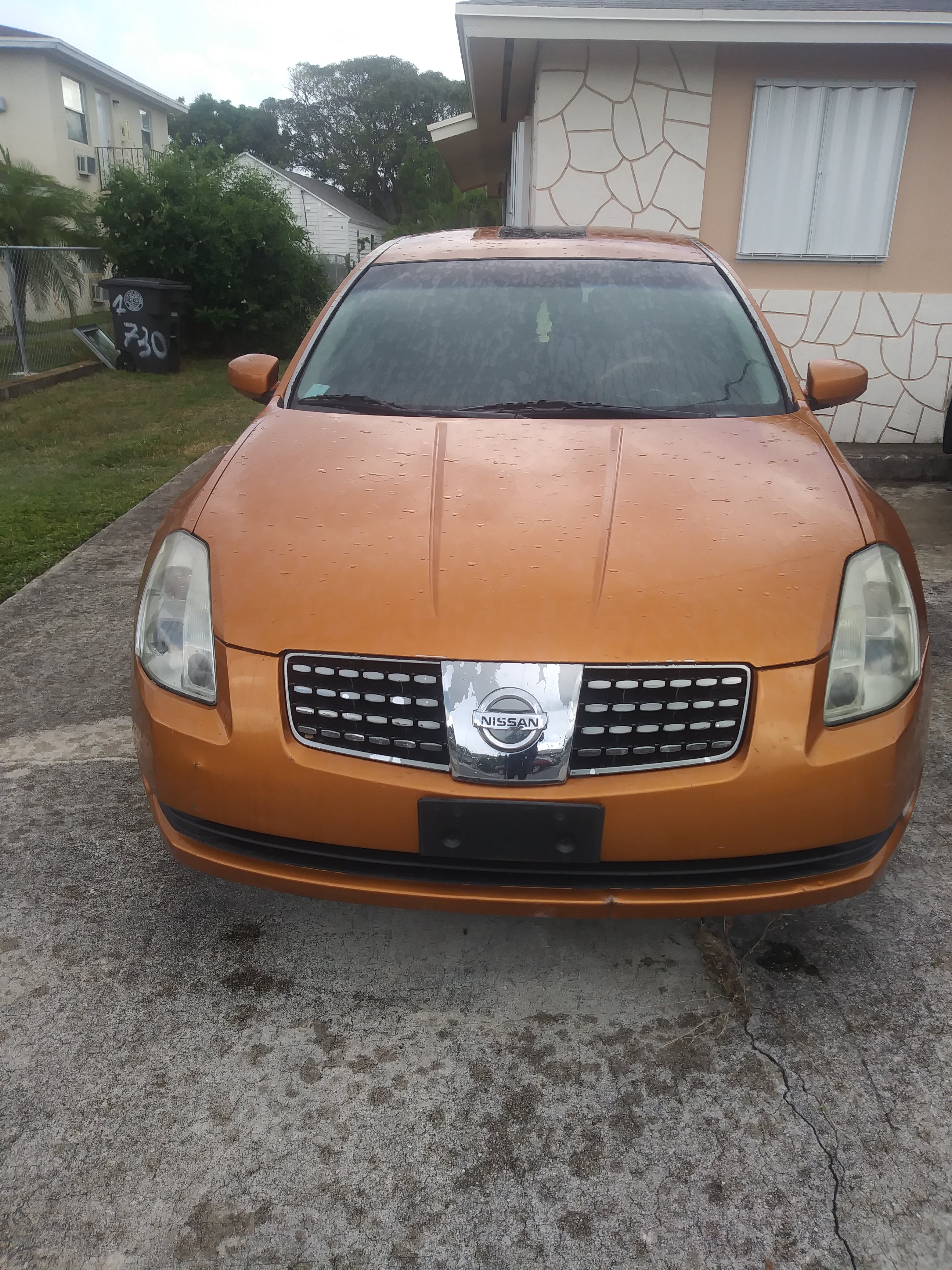 Junk 2004 Nissan Maxima in West Palm Beach