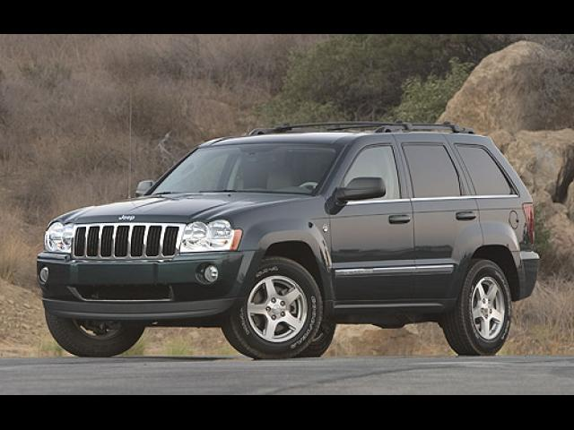 Junk 2005 Jeep Grand Cherokee in Houston
