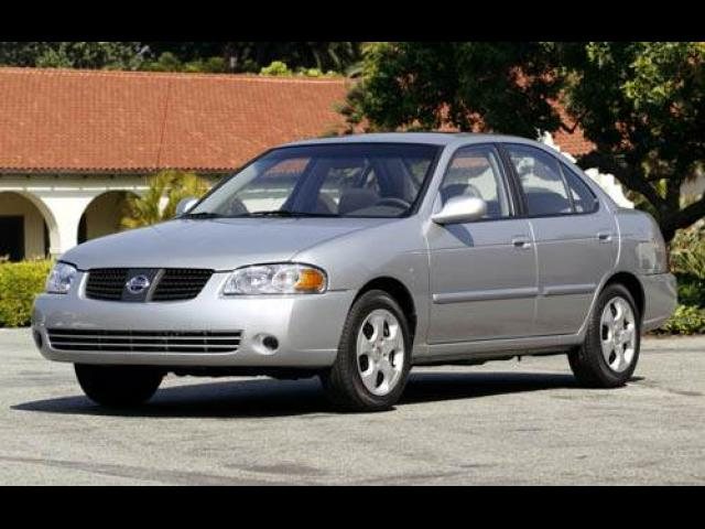 Junk 2005 Nissan Sentra in Houston