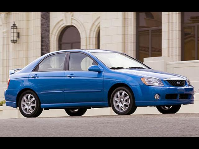Junk 2006 Kia New Spectra in Dallas