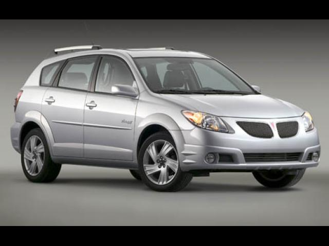 Junk 2006 Pontiac Vibe in Houston