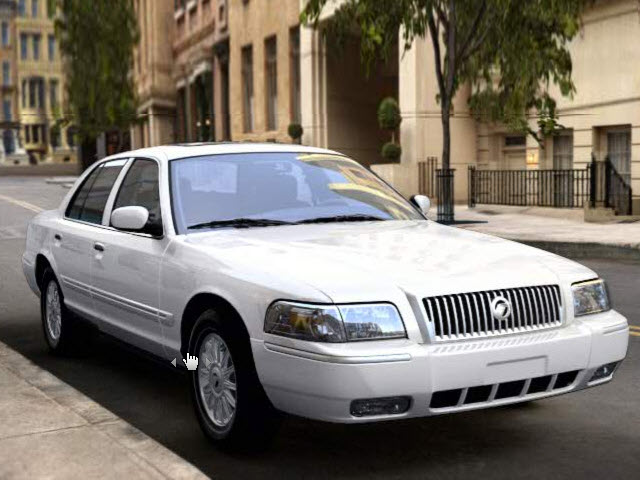 Junk 2010 Mercury Grand Marquis in Austin