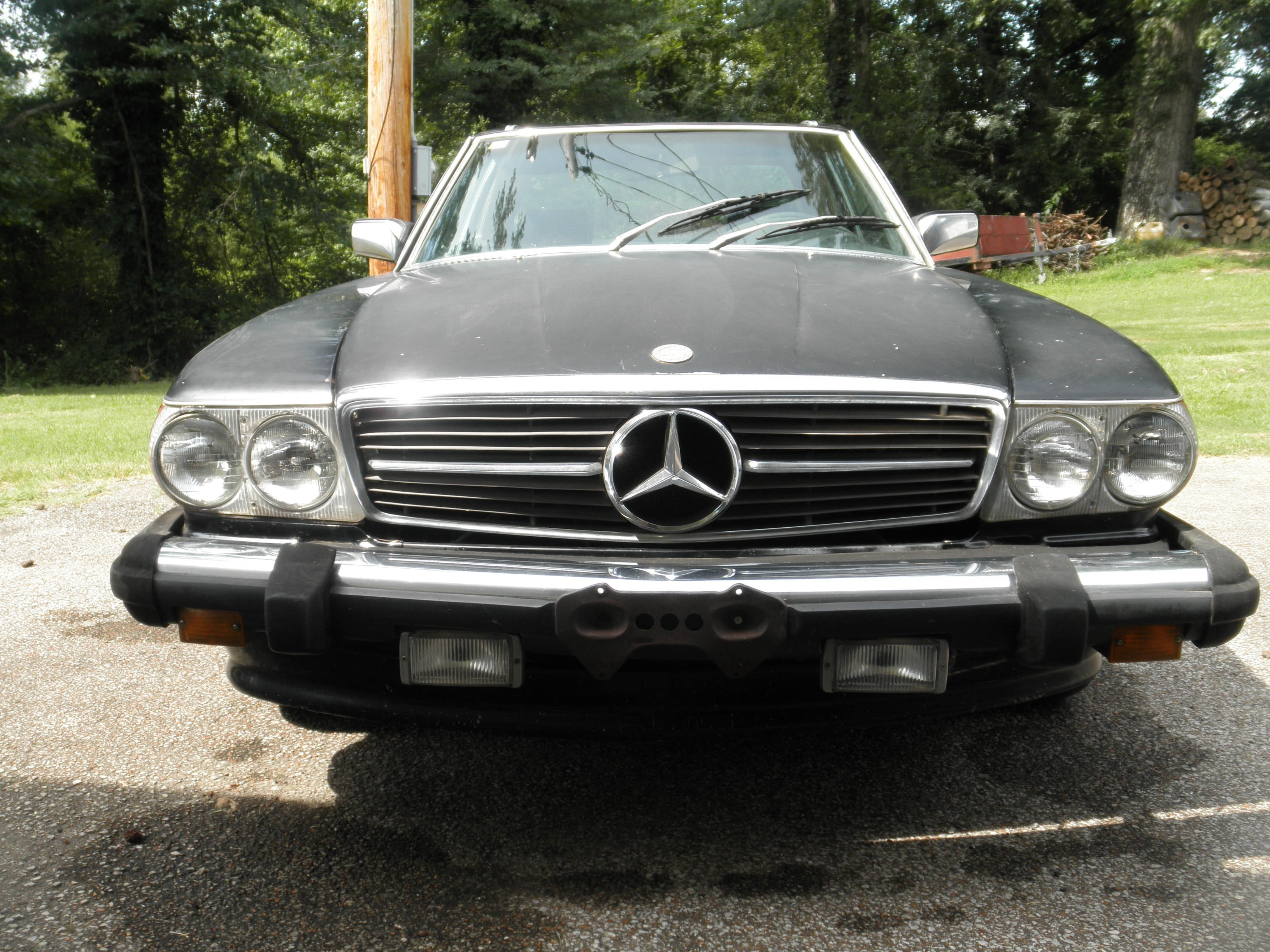 Junk 1981 Mercedes-Benz 380 in Cedar Grove