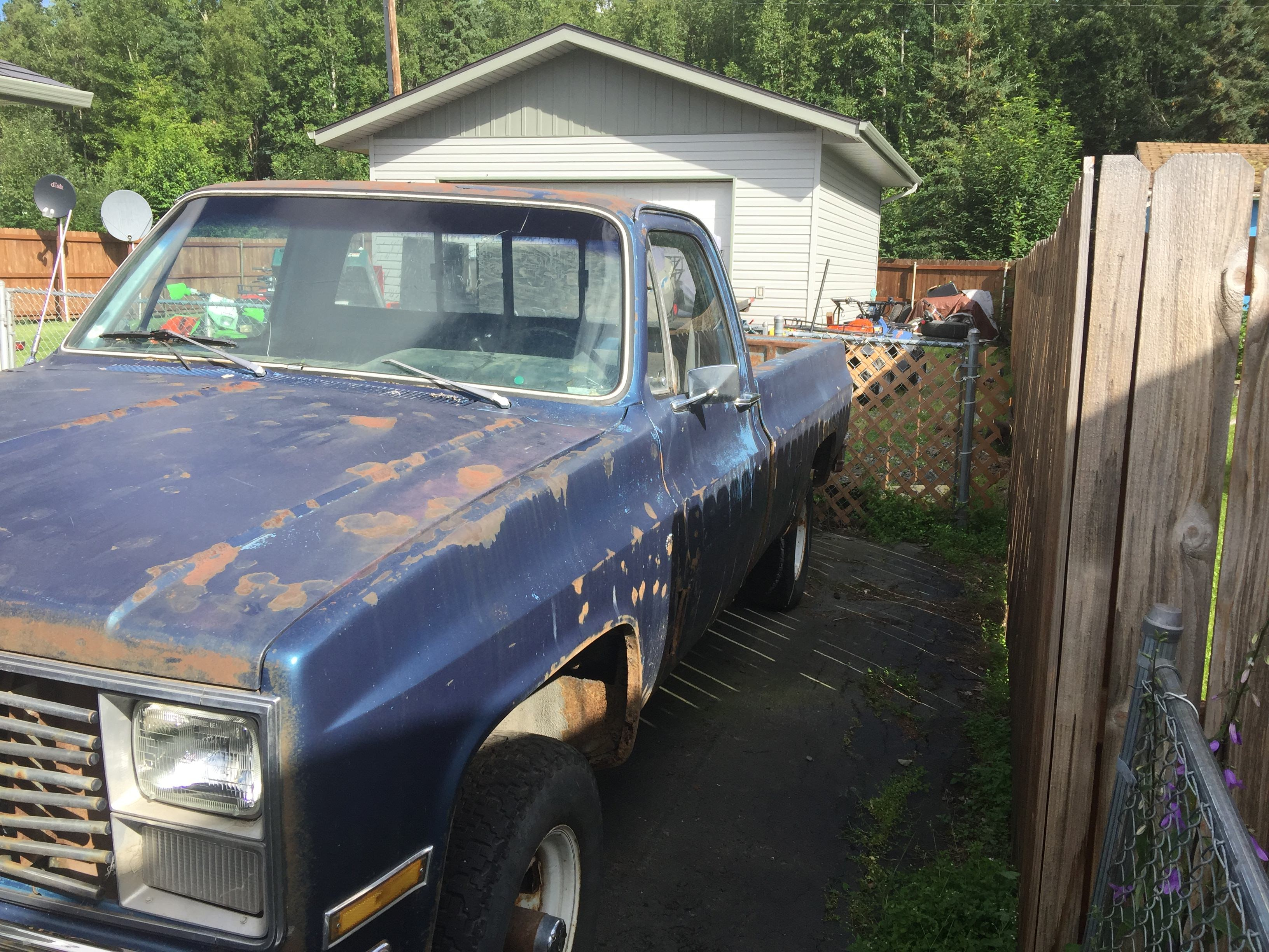 Junk 1983 GMC K1500 in Anchorage