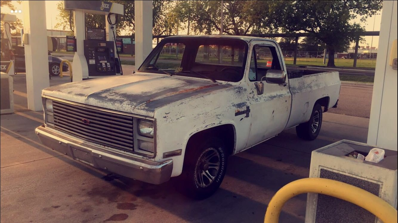 Junk 1985 Chevrolet C10 in Virginia Beach