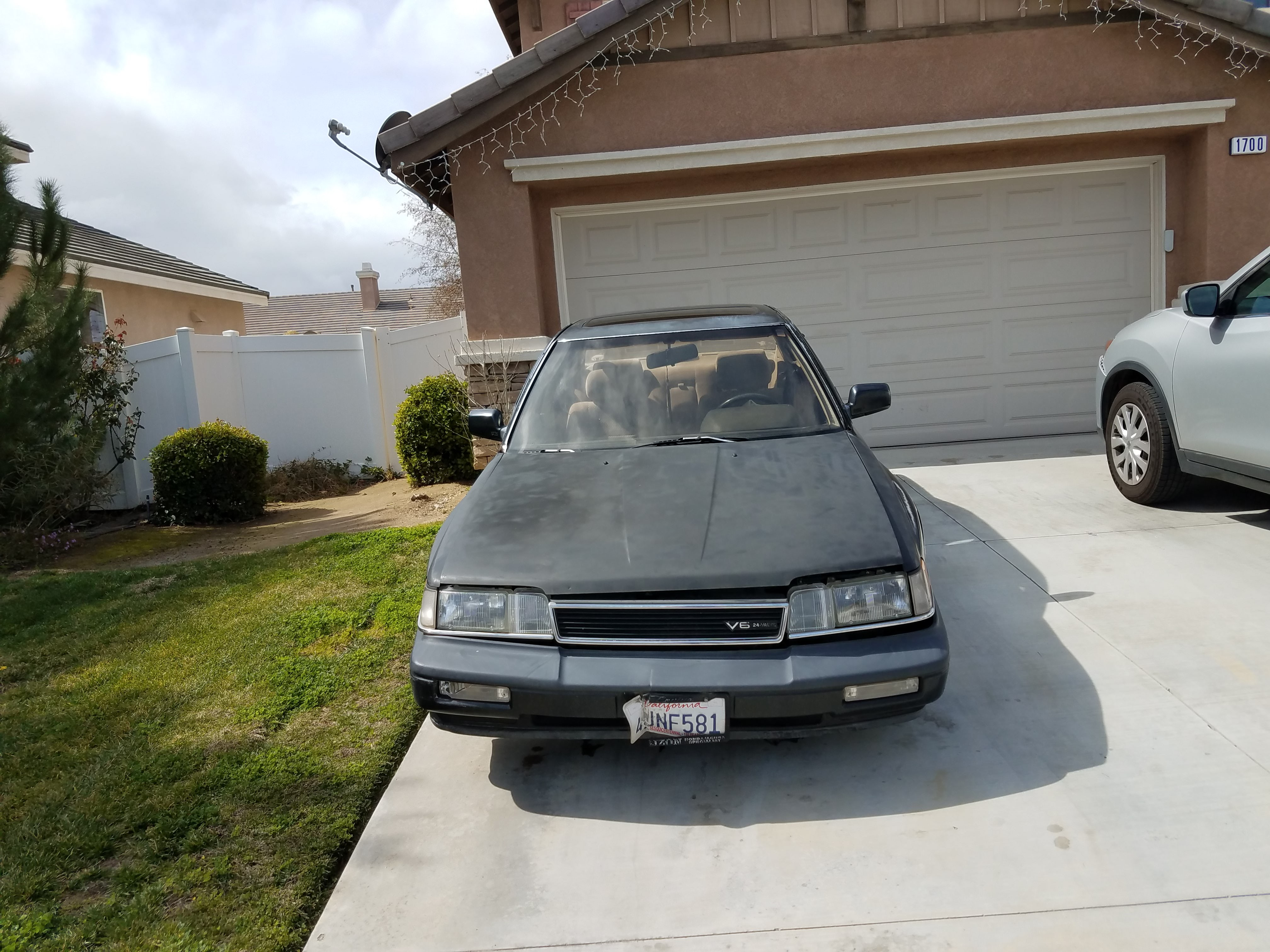 Junk 1988 Acura Legend in Perris