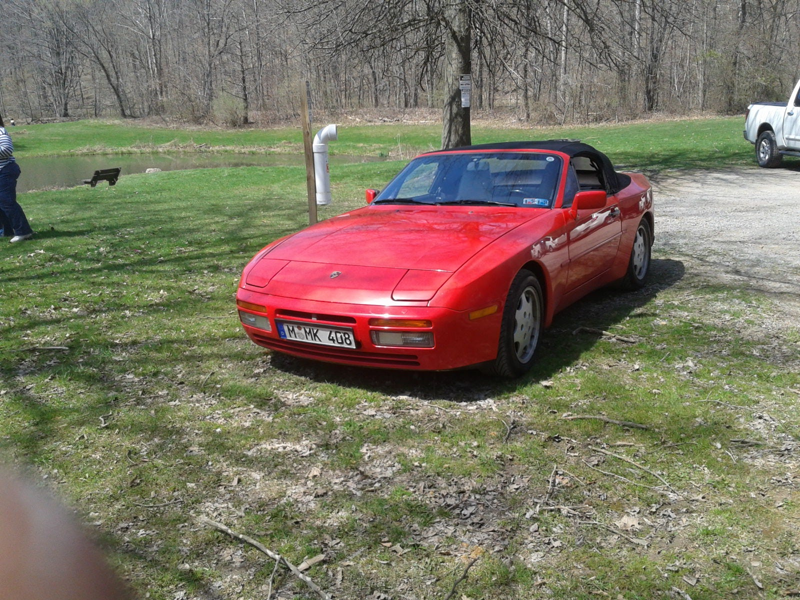 Junk 1990 Porsche 944 in Pittsburgh