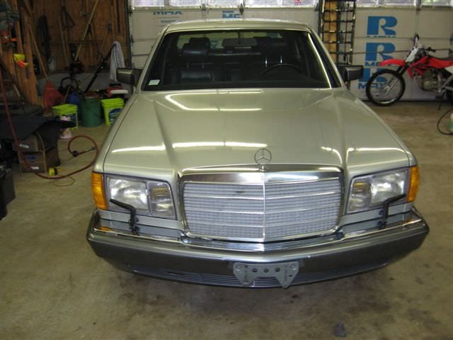 Junk 1991 Mercedes-Benz 350 in Centerville
