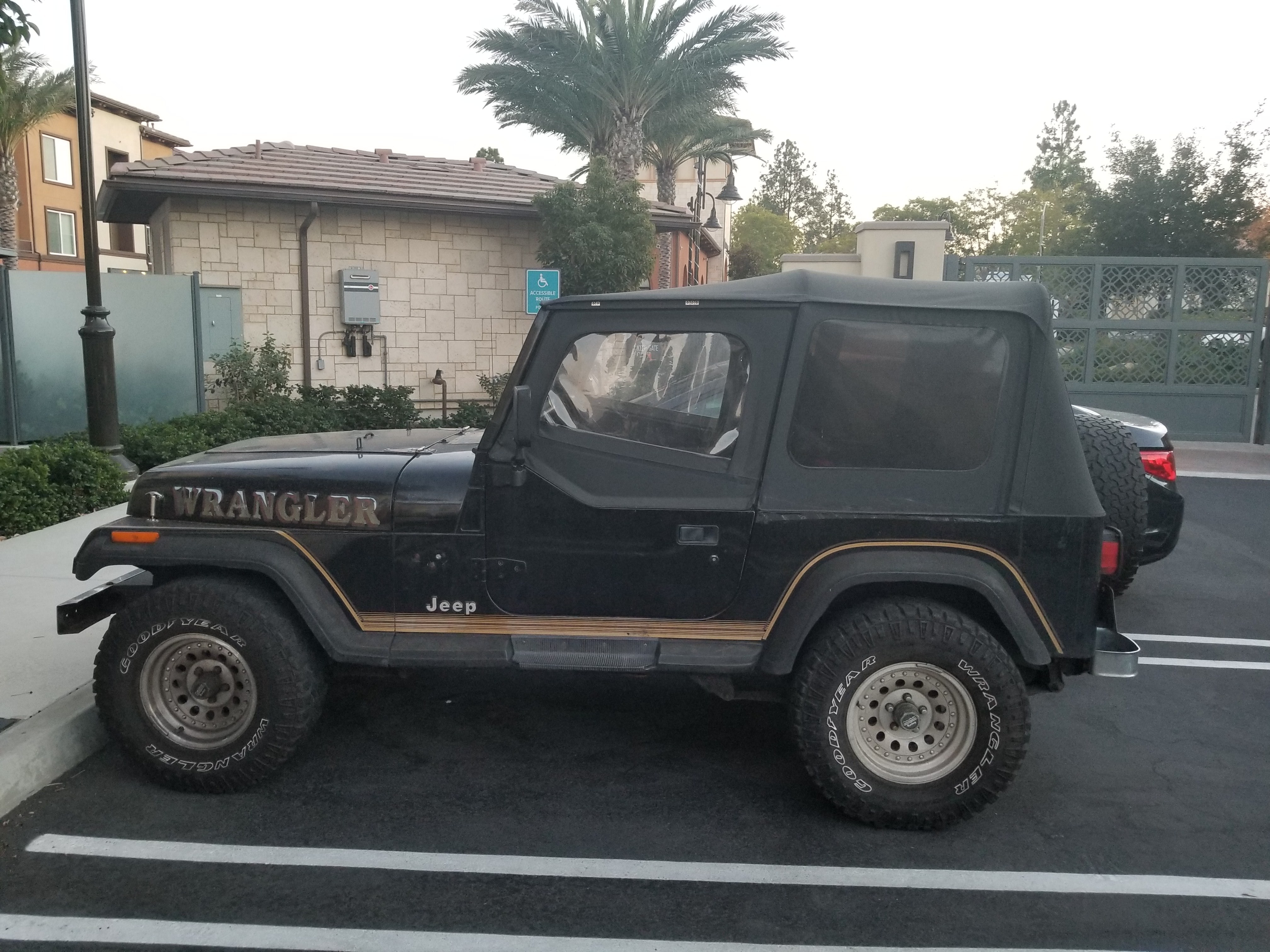 Junk 1992 Jeep Wrangler / YJ in Vista