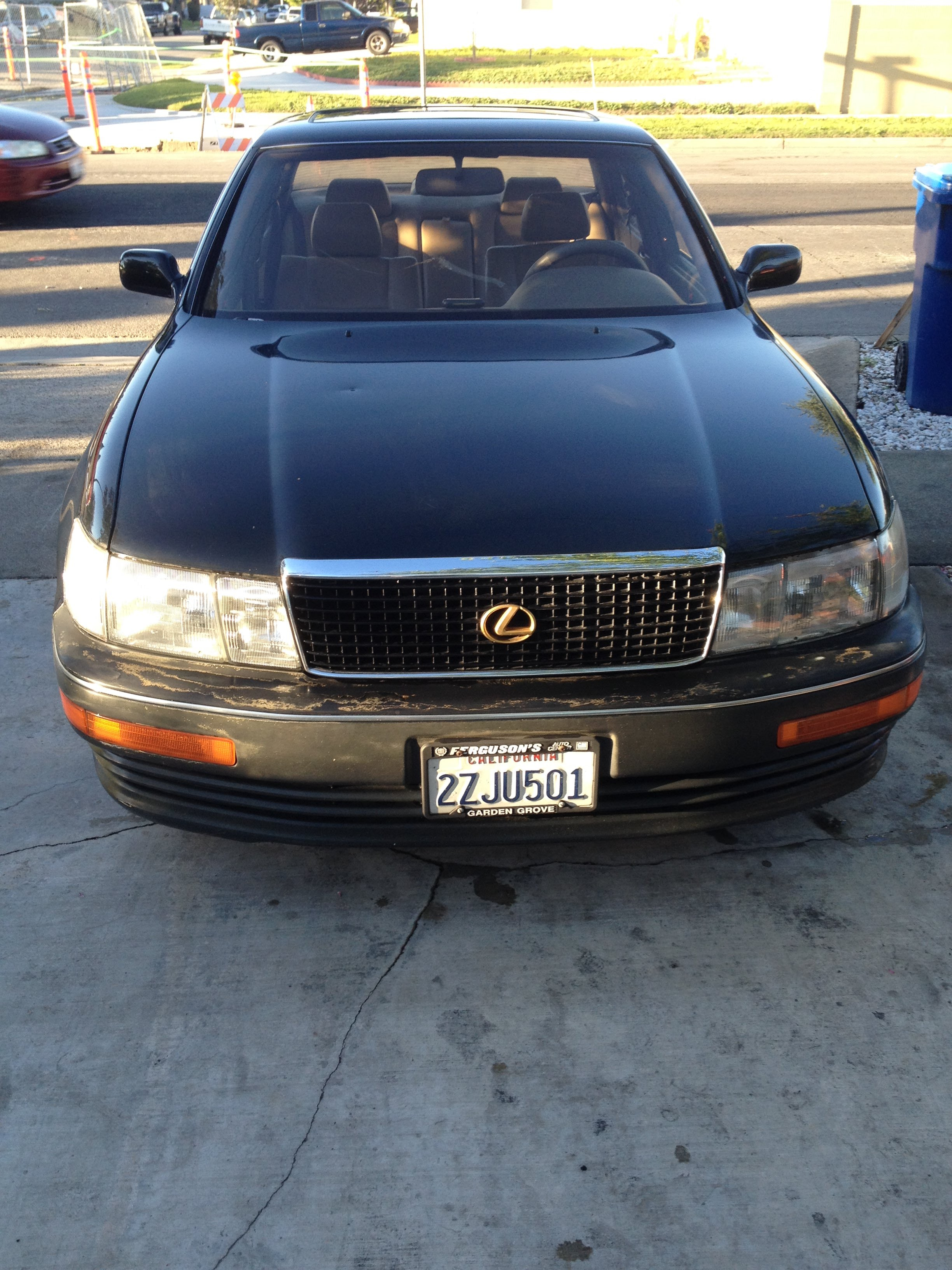 Junk 1992 Lexus ES in Cypress