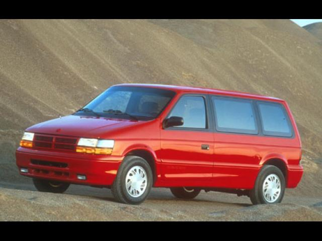 Junk 1993 Dodge Caravan in East Hartford
