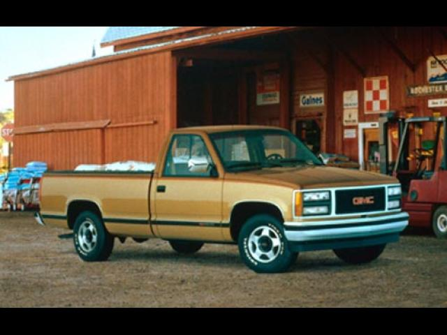 Junk 1993 GMC Sierra in Brick