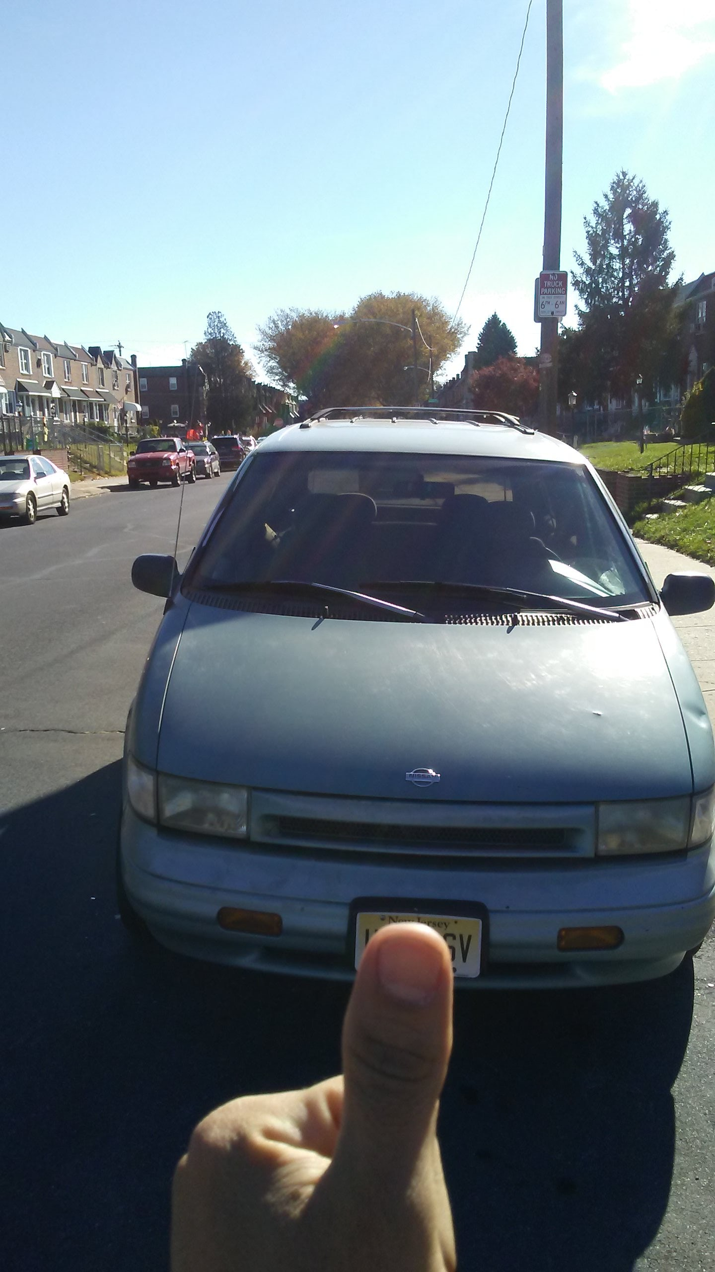 Junk 1993 Nissan Quest in Philadelphia