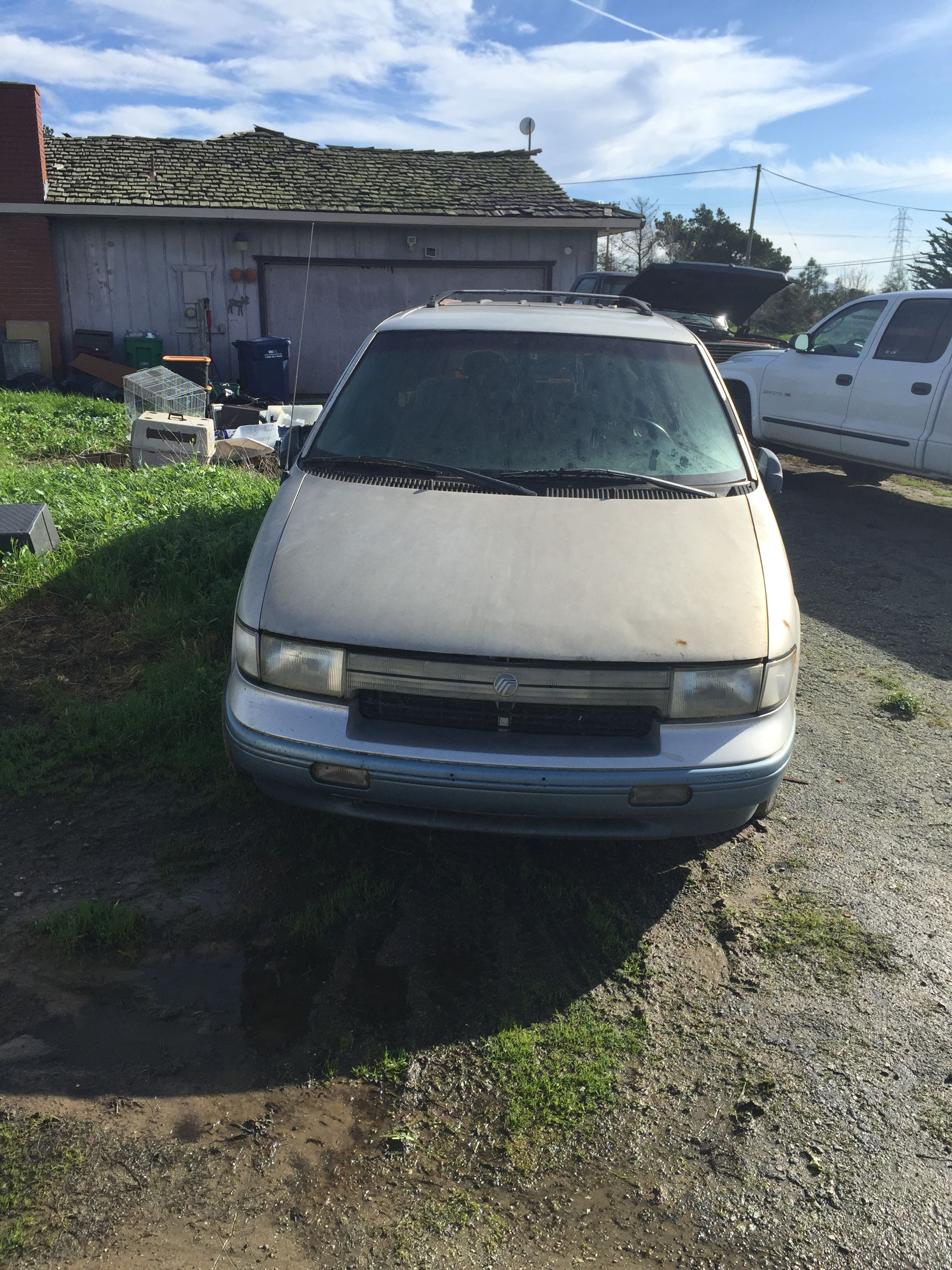 Junk 1994 Mercury Villager in Castroville