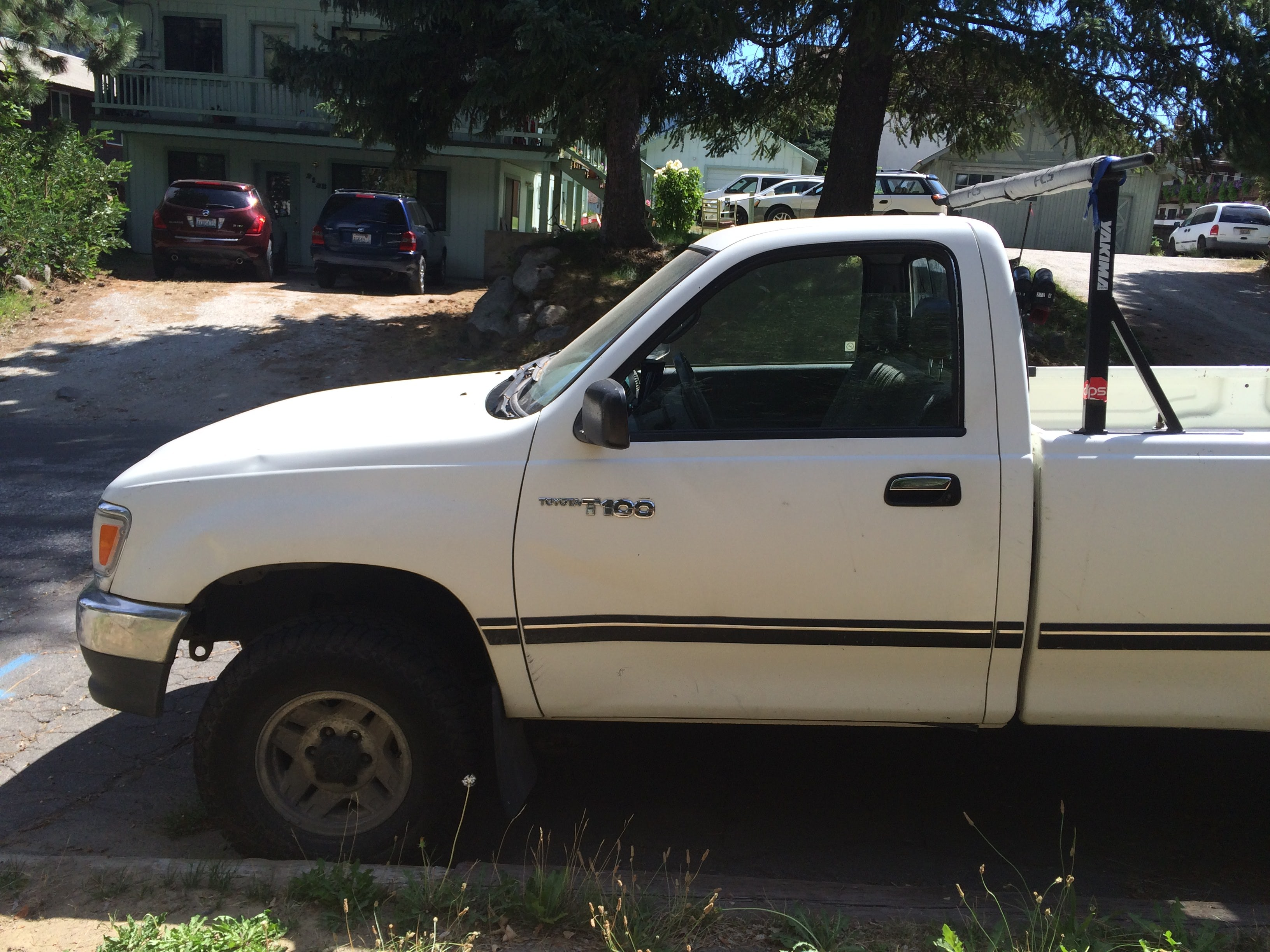 Junk 1994 Toyota T100 in Leavenworth