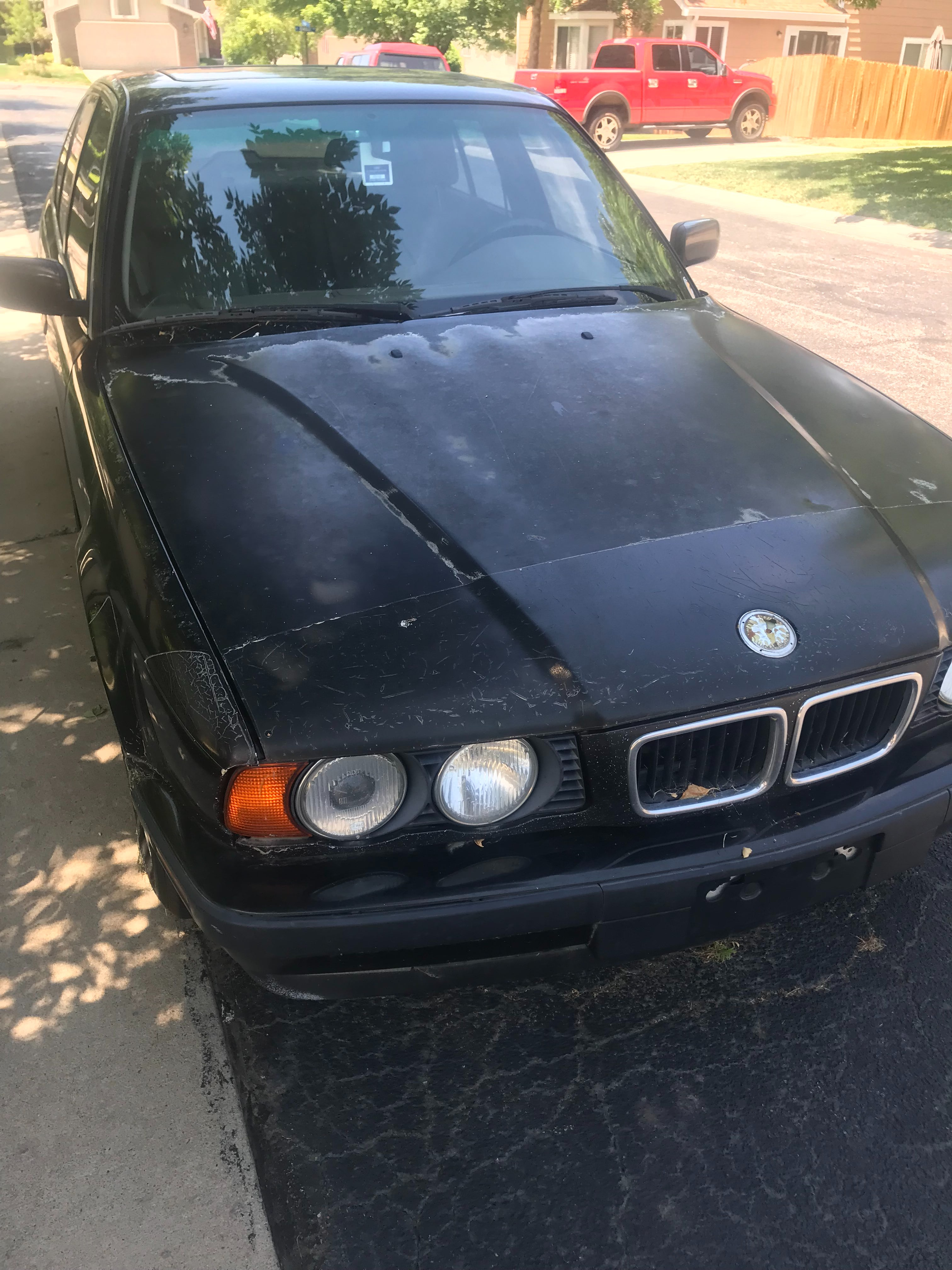Junk 1995 BMW 540 in Aurora