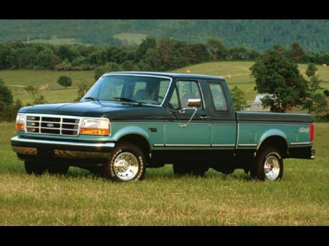 Junk 1995 Ford F150 in Becker