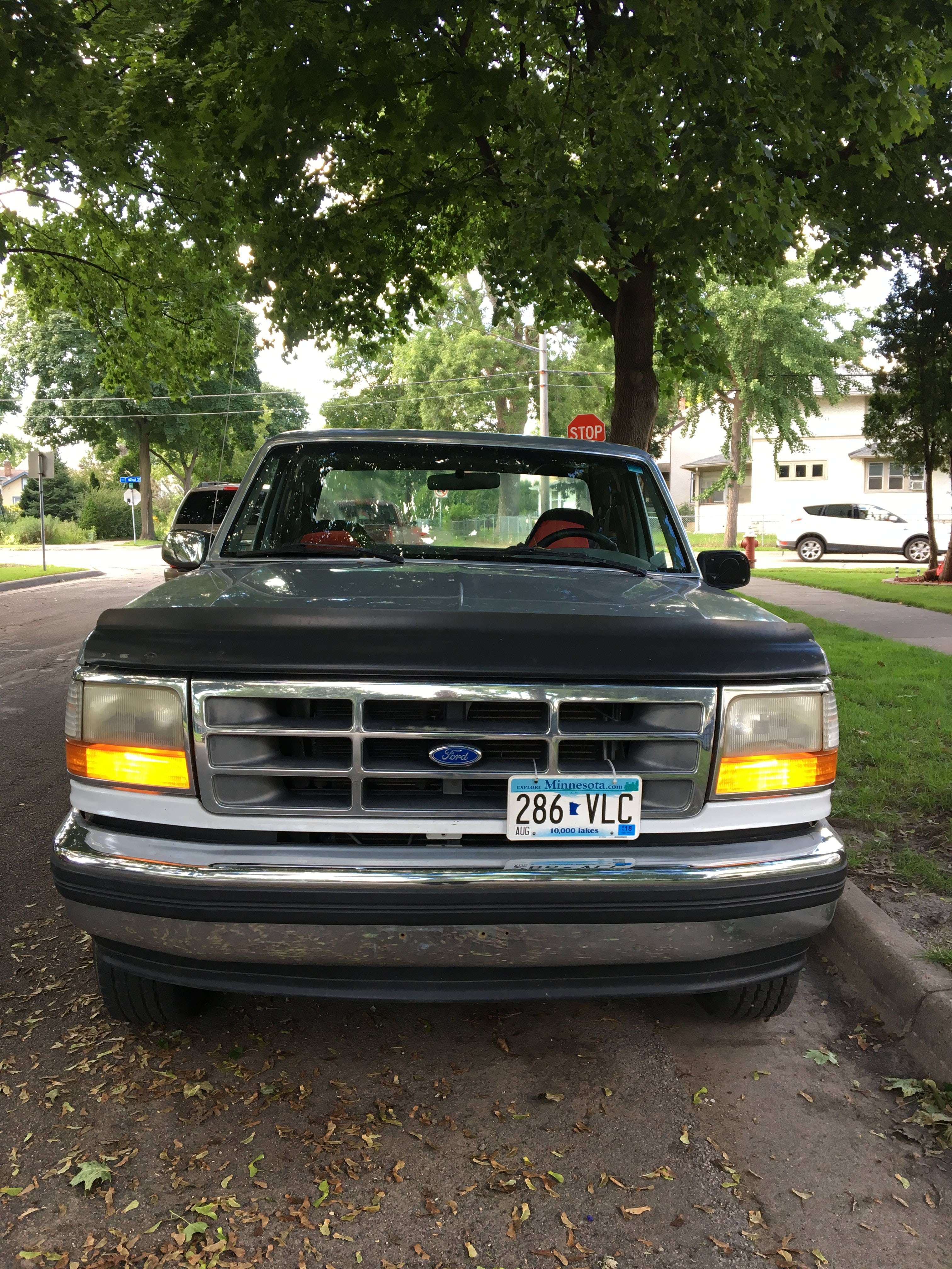 Junk 1995 Ford F150 in Minneapolis