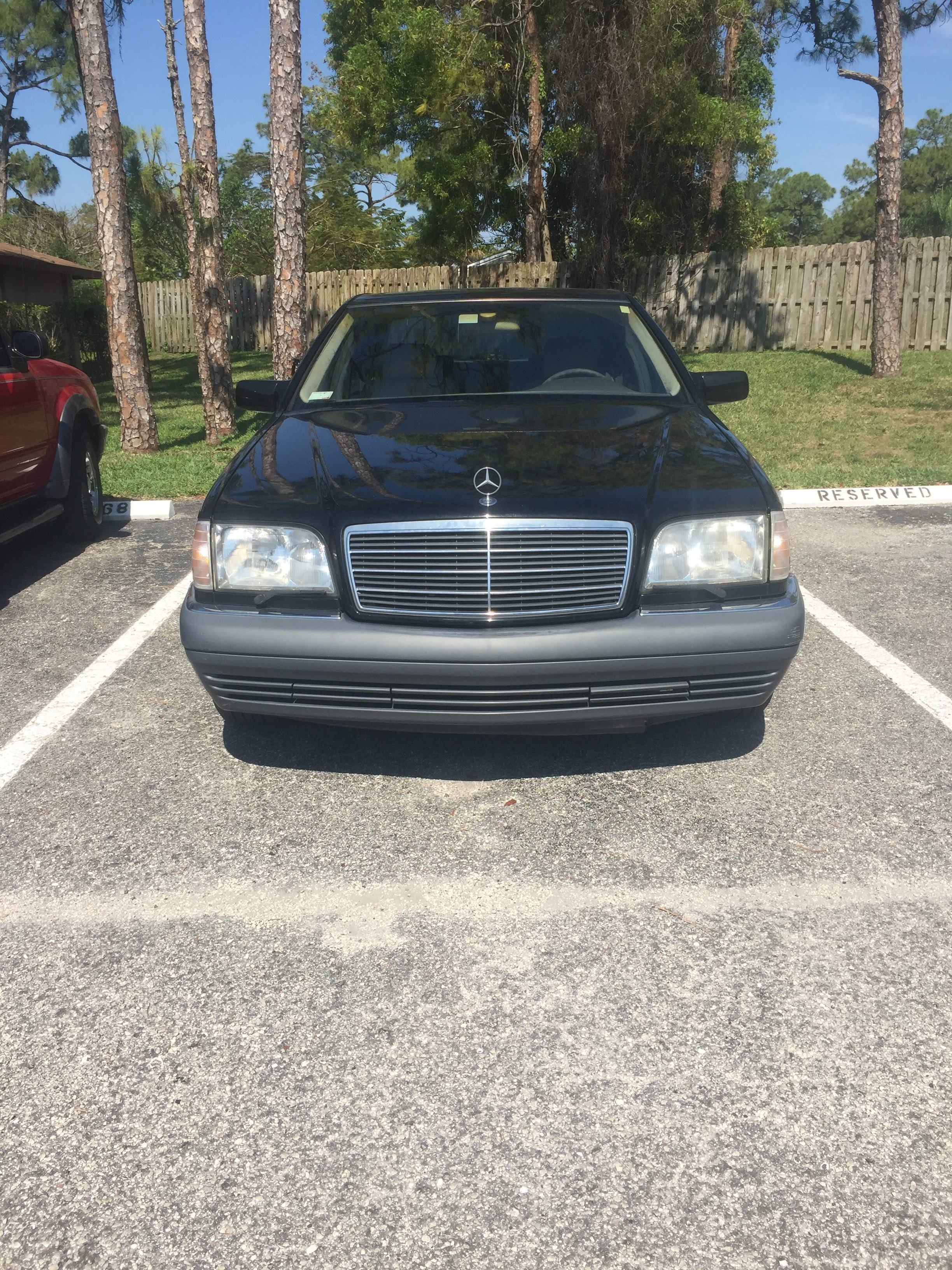Junk 1995 Mercedes-Benz S in Lake Worth