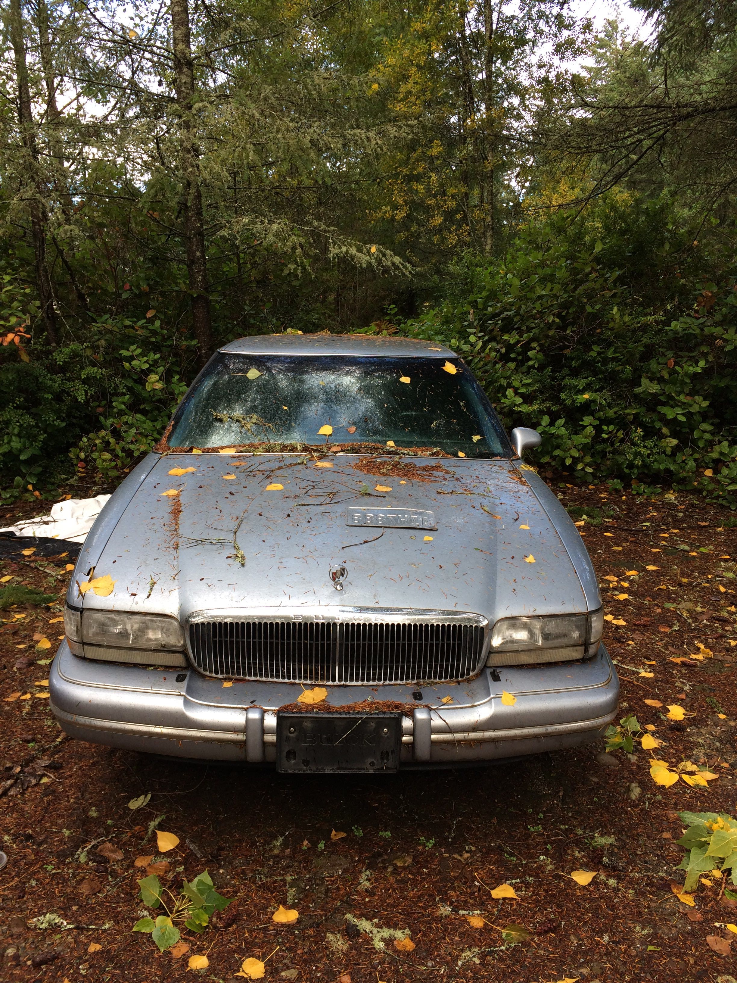 Junk 1996 Buick Park Avenue in Gig Harbor