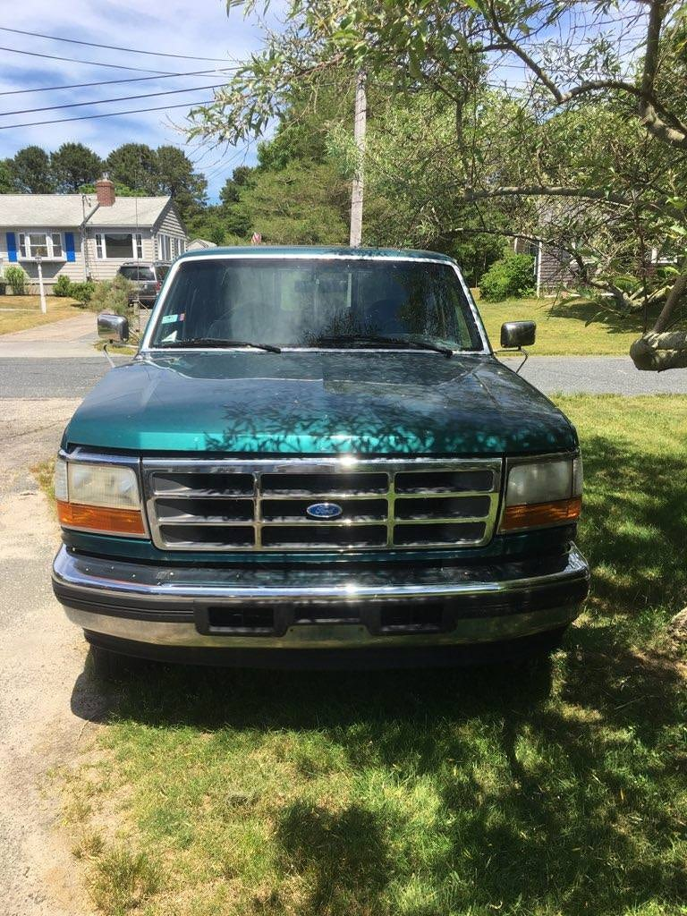 Junk 1996 Ford F150 in West Yarmouth