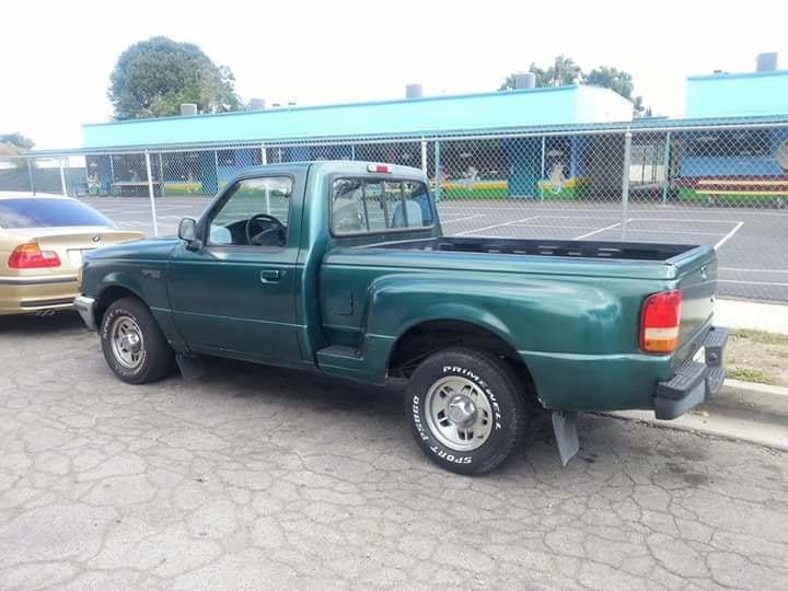 Junk 1996 Ford Ranger in Compton