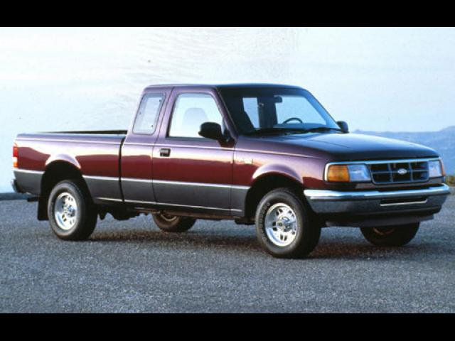Junk 1996 Ford Ranger in Running Springs