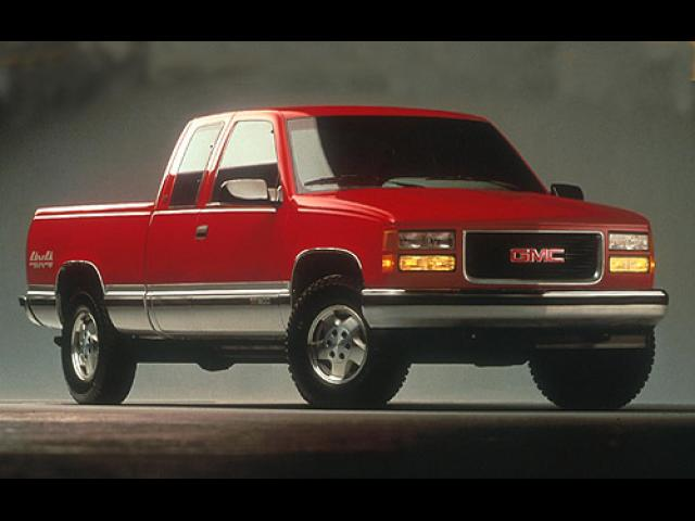 Junk 1996 GMC Sierra in Orange