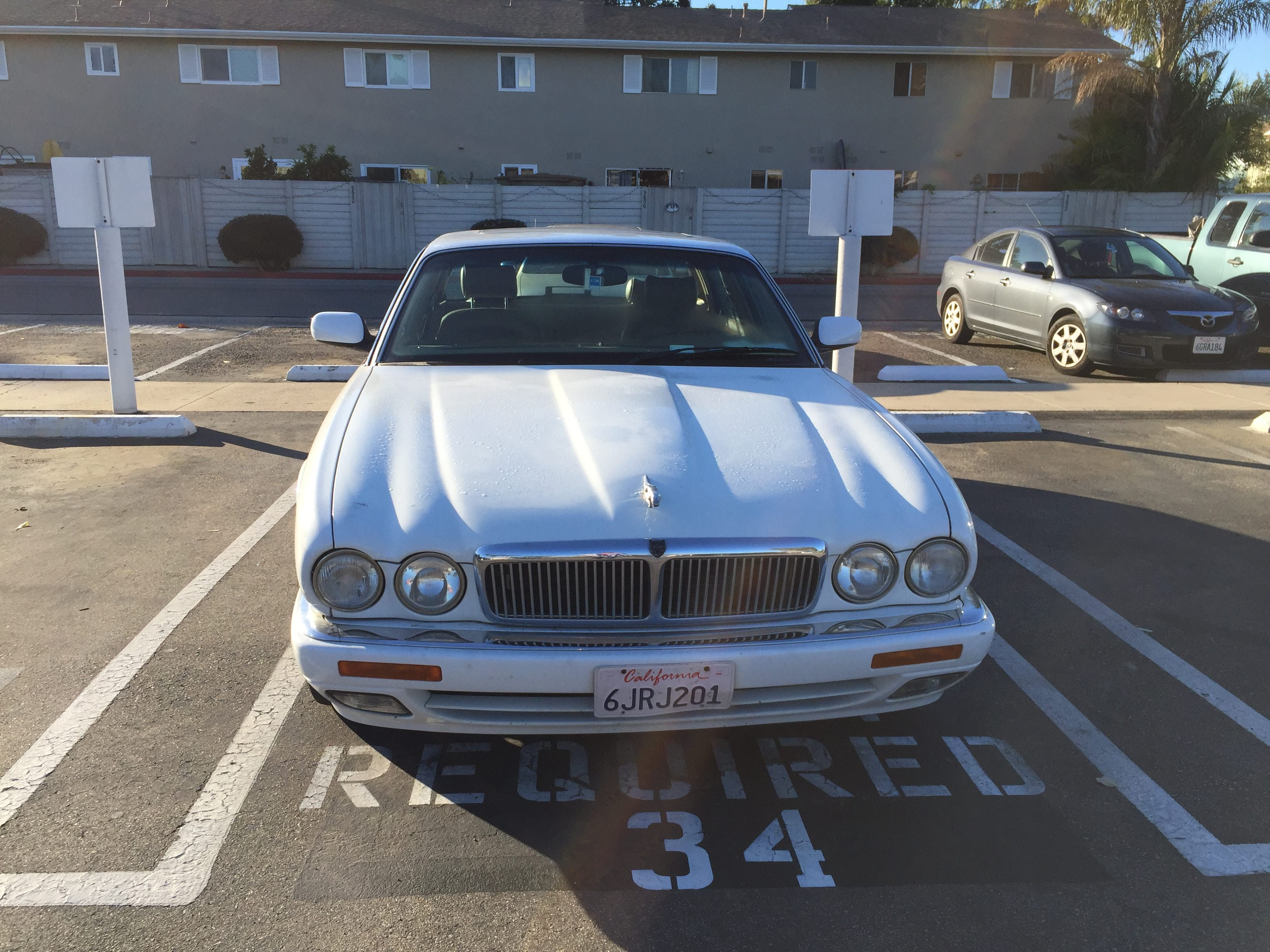 Junk 1996 Jaguar XJ6 in Huntington Beach