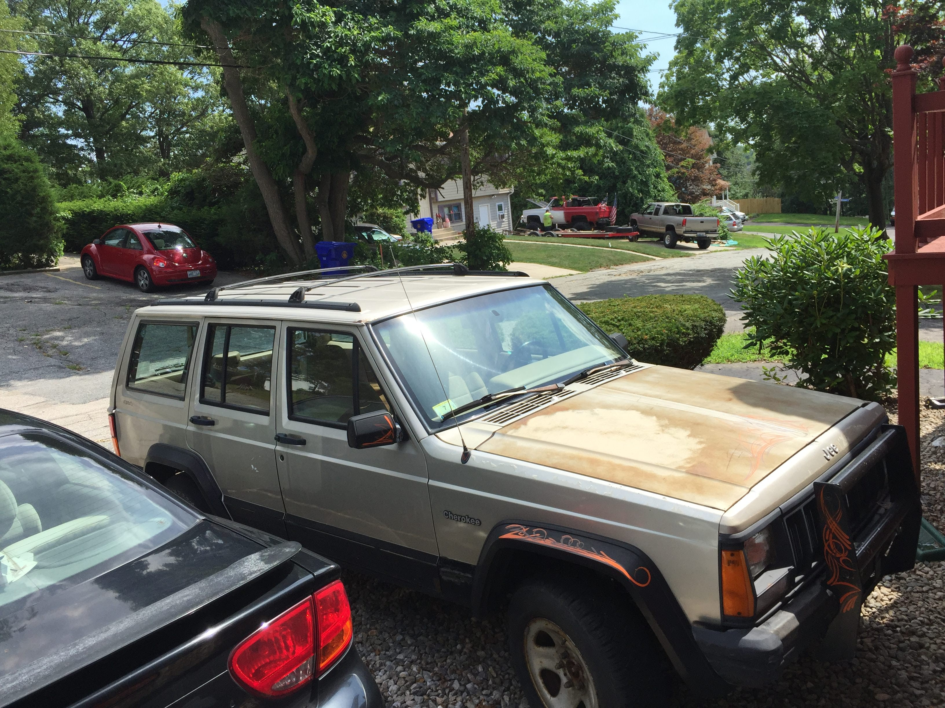 Junk 1996 Jeep Cherokee in Providence