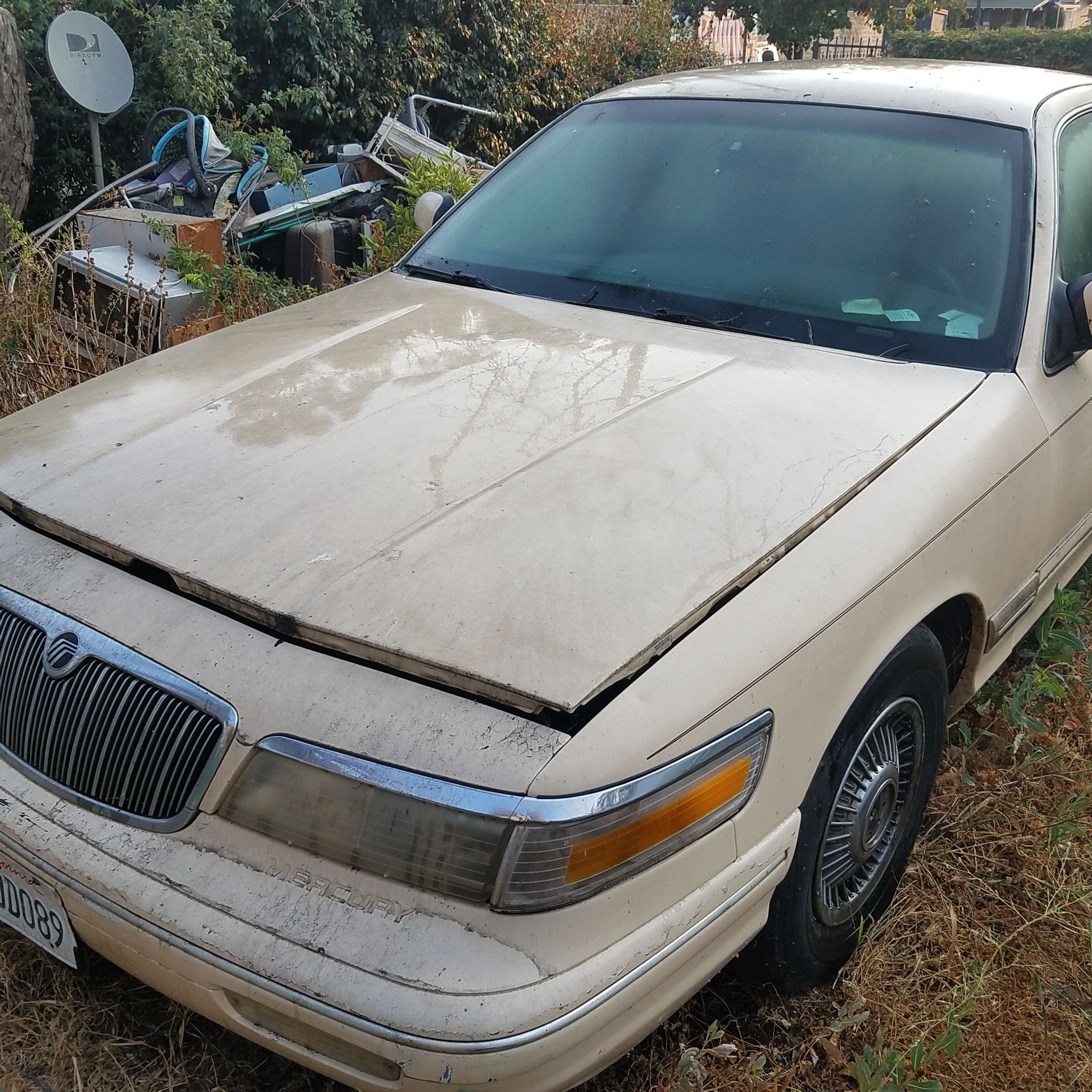 Junk 1996 Mercury Grand Marquis in Los Angeles