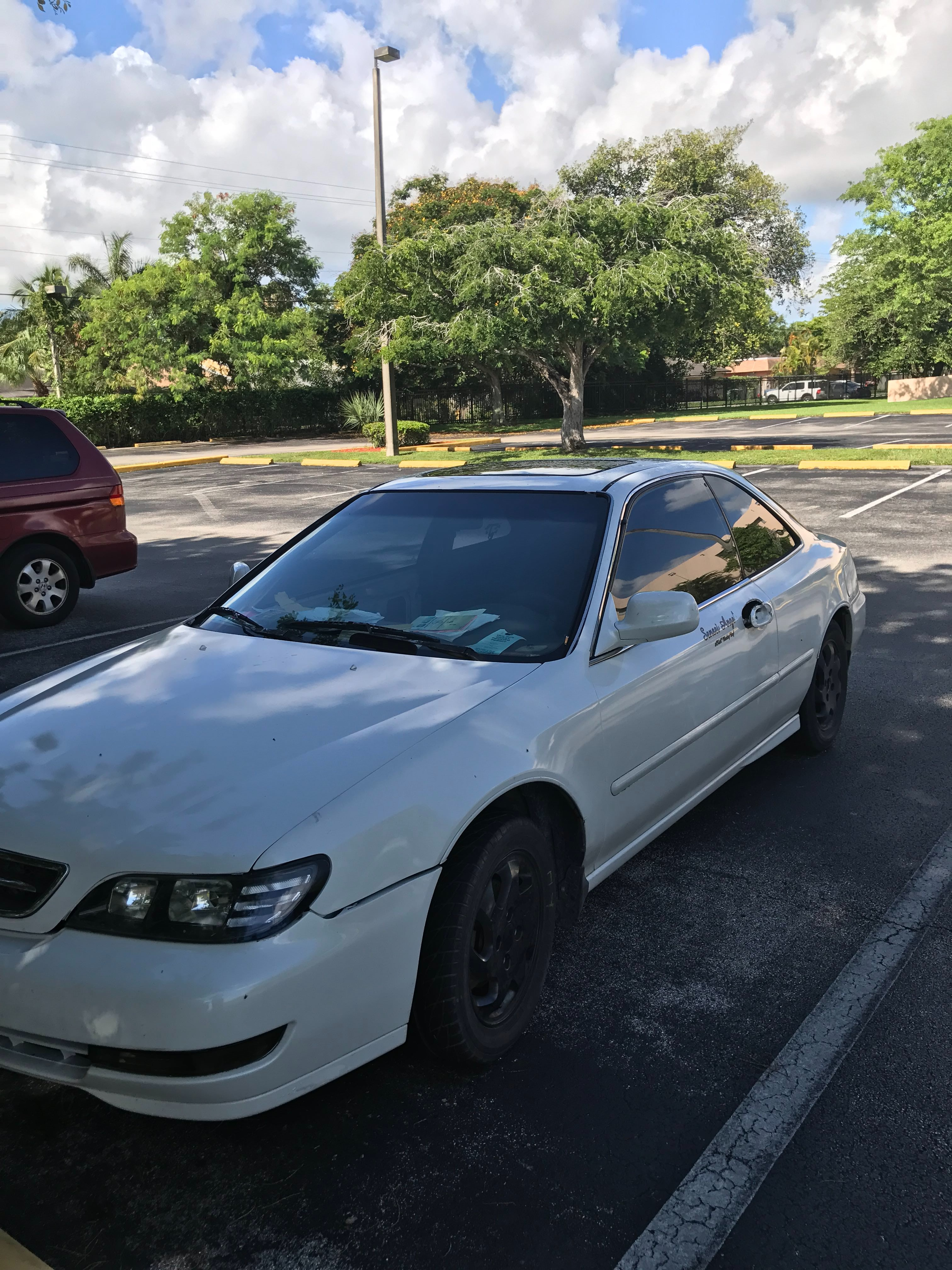 Junk 1997 Acura 2.2CL in Homestead