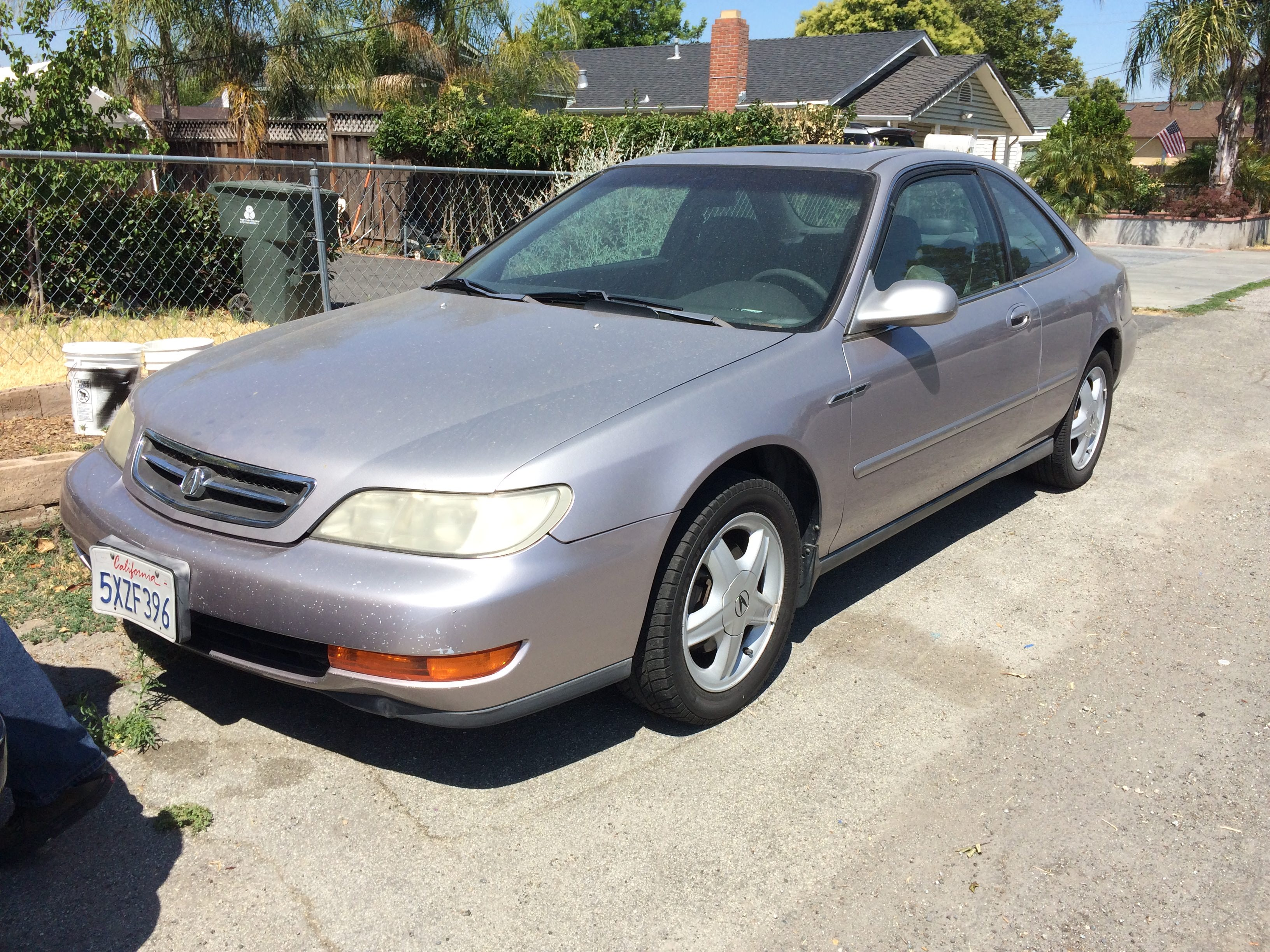 Junk 1997 Acura 3.0CL in San Jose