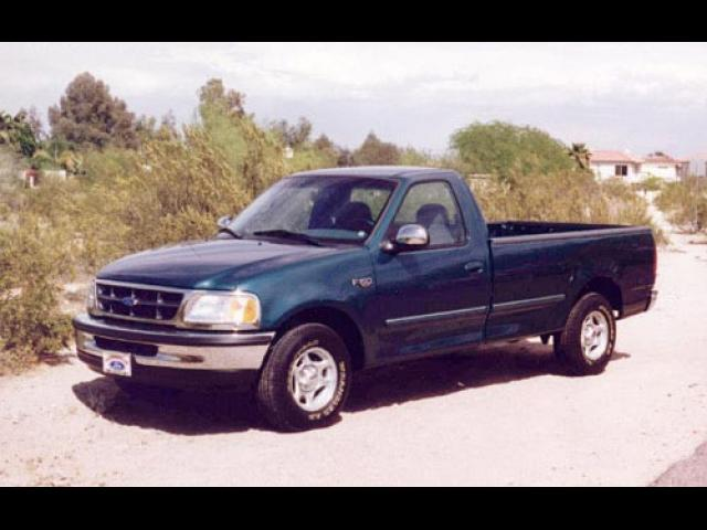 Junk 1997 Ford F150 in Newton