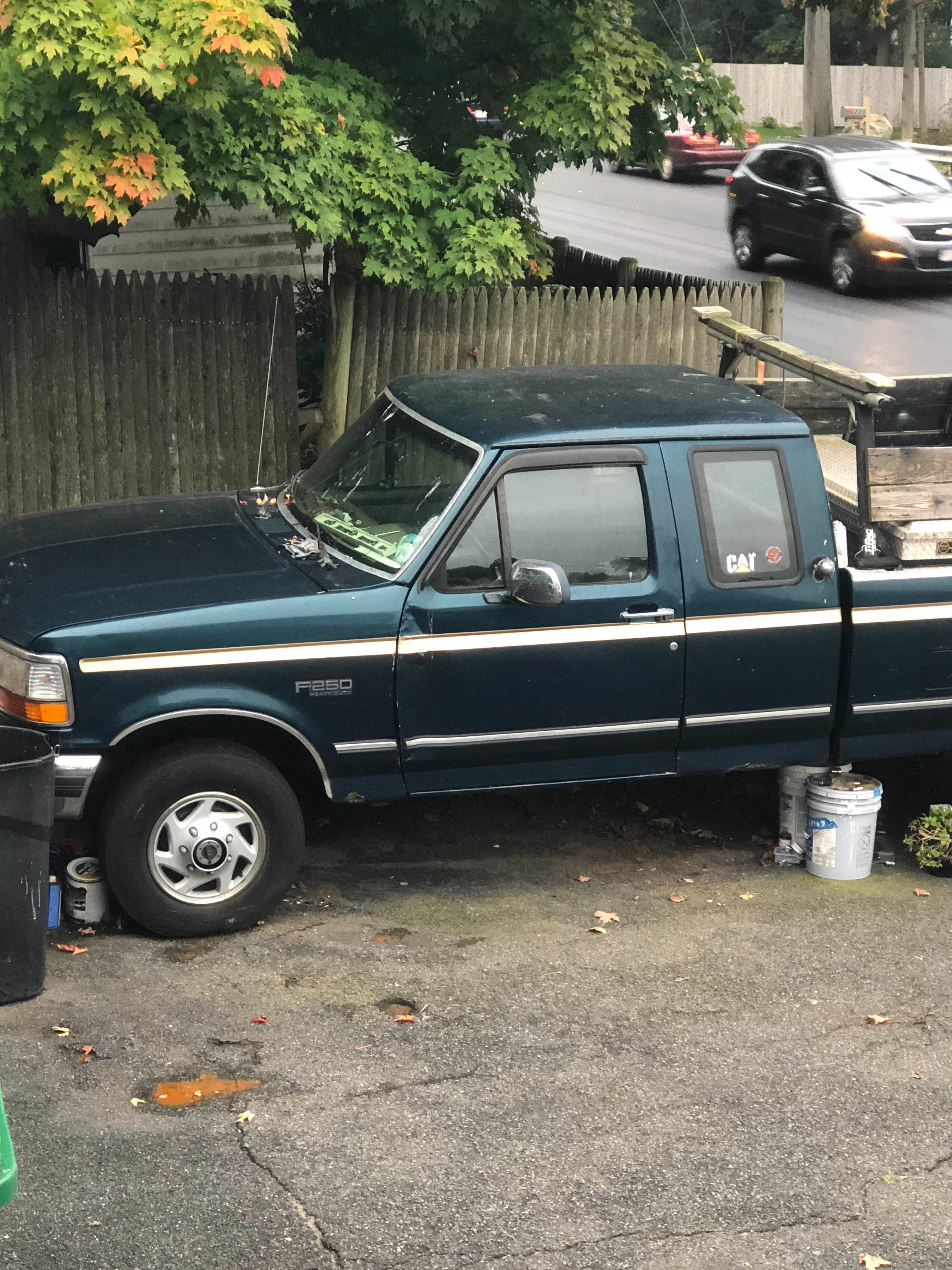 Junk 1997 Ford F250 in Saugus