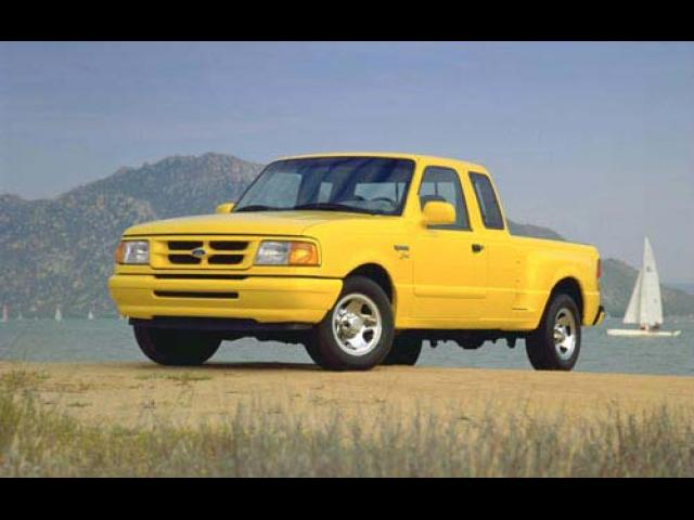 Junk 1997 Ford Ranger in Conroe