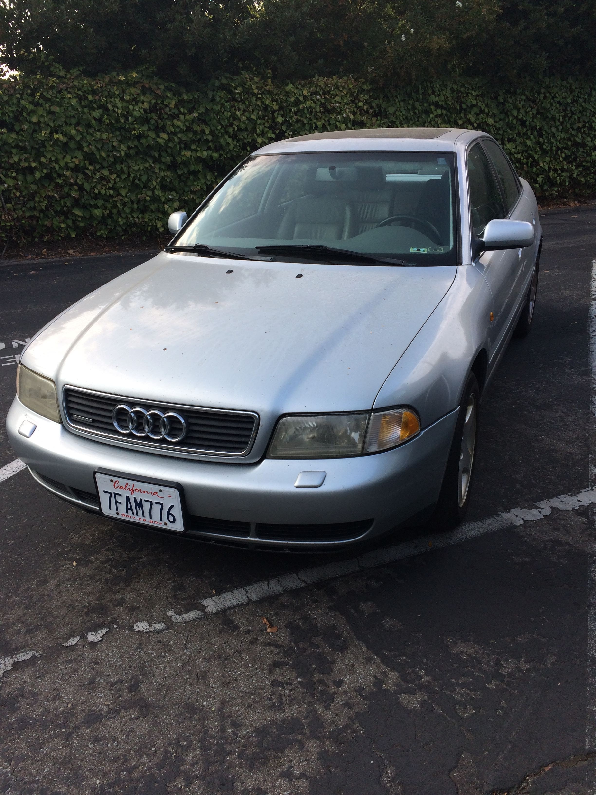 Junk 1998 Audi A4 in Cupertino