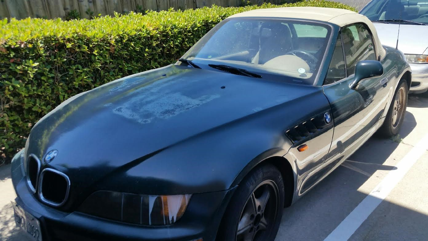 Junk 1998 BMW Z3 in San Diego