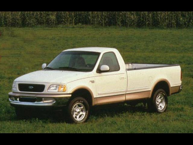 Junk 1998 Ford F150 in White House